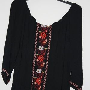Old Navy Embroidered Top